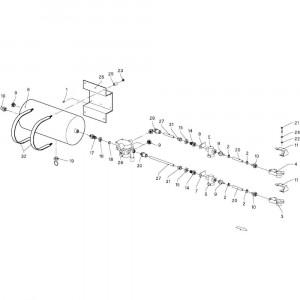 022 Hydraulisch blok passend voor DEUTZ-FAHR GP 120