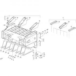 036 Plunjer passend voor DEUTZ-FAHR GP 120