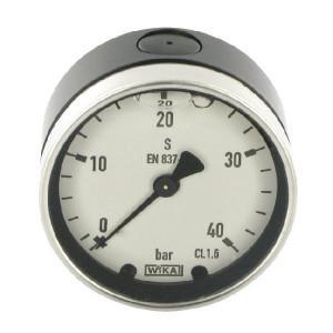 WIKA Manometer 63 0- 40 BAR ACHT. - GT9154040