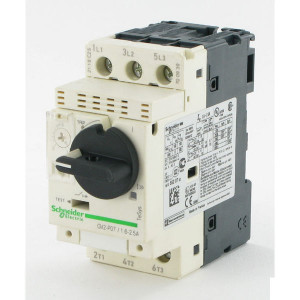 Schneider-Electric Motorbeveiligingsschak, 1-1,6A - GV2P06 | 1 ... 1,6 A | 0,55 kW | 0,75 kW
