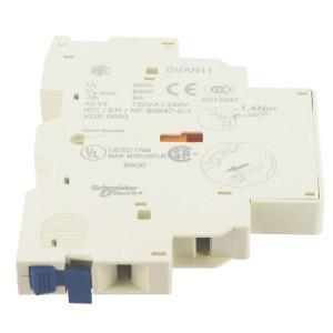 Schneider-Electric Hulpcontactblok 1m/1 v-contact - GVAN11 | 1 pcs maker | 1 pcs verbreker