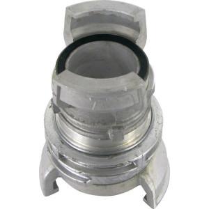 Koppeling DN40>50, 1 1/2>2 - GVG040050 | Aluminium | 16 bar | Guillemin | 40 > 50 mm | 1 1/2 > 2 Inch