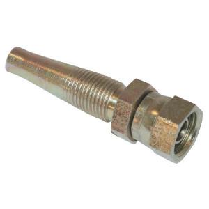 Schroefpilaar DN10-M18x1,5 - GZ1018 | D.m.v. conus | DIN 3863 | 60 ° | 31,8 mm | 7,6 mm | 64,6 mm | 3/8 Inch | 10 mm | M18 x 1,5 metrisch