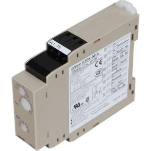 Omron Multifunc.Timer, 12VDC, SPDT - H3DKM1A12VDC | 22,5 mm | 79 mm | 5 A | 100 mm | 250 V | 12V DC V | 1.250 VA | 50 (5 /10) V/mA | 0,1s ... 120h | 100 ms