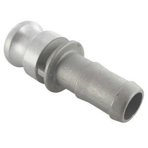 "Camlock E 1"" tule rvs - HCN100ESS025 | Roestvrij staal | 36,5 mm | 1 Inch | 25 mm"