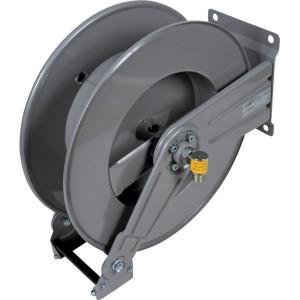 "Ramex Autom. slanghaspel staal - HD1000FE | Zelfoprollend | 200 bar | 90 °C | 145 kg | Gepoedercoat staal | Buitendraad 1/2"" in | Binnendraad 1/2"" uit | 180 mm | 232 mm | 140 mm | 204 mm | 262 mm | 560 mm | 430 mm | 115 mm | 260 mm | 460 mm | 1/2 Inch"
