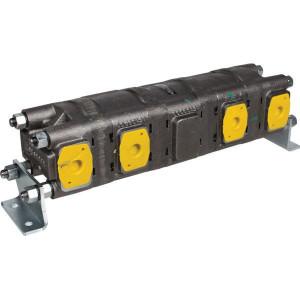Casappa Stroomdeler HDD30.43+43MC+C3030M.+43+43MC-N - HDD30433 | 310 bar | 3000 Rpm omw./min. | 500 Rpm omw./min. | 33 cc/omw | 155 mm | 155 mm | 104 mm