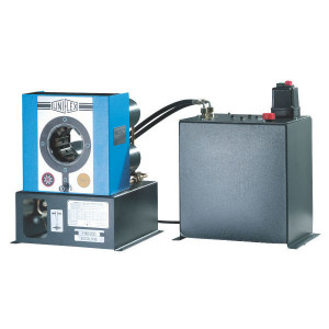 Uniflex Slangenpers cpl. - HM200ECO | RAL 5012 blauw | (LxBxH mm) | 1.300 kN