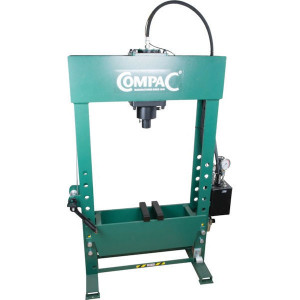 Compac Werkplaatspers 40 t - HP40G2 | 40 ton | 840 mm | 840 mm | 200 mm | 300 mm | 125 mm | 620 mm | 1830 x 620 x 1350 mm | 370 kg