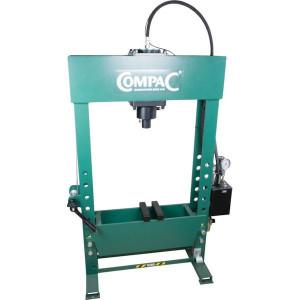 Compac Werkplaatspers 50 t - HP50G3 | 50 ton | 840 mm | 840 mm | 200 mm | 300 mm | 125 mm | 620 mm | 1840 x 620 x 1350 mm | 370 kg