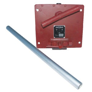 Handpomp Weber 5ltr.tank - HP5 | 180 bar | 5 l ltr. | 0,02 l/min | 9.5 + 9.5 cc | 200 Nm