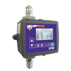 MP Filtri Inline-deeltjessensor - ICMWMK00G1 | IP 65/67 | 1,15 kg | 400 bar | 20 400 ml/min l/min