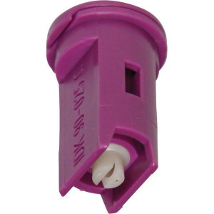 Lechler Venturi spleetdop IDK 90° violet keramisch - IDK90025C | Zeer goede slijtvastheid | 8 mm | Keramisch | violet | 1,5 6 bar | 90°