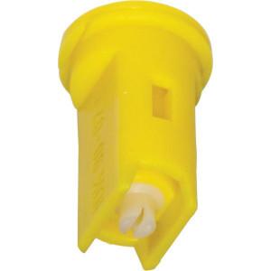 Lechler Venturi spleetdop IDK 90° geel keramisch - IDK9002C | Zeer goede slijtvastheid | 8 mm | Keramisch | 1,5 6 bar | 90°