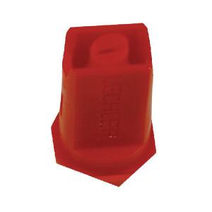 Lechler Venturi kantdop IDKS 80° rood kunststof - IDKS8004POM | 8 mm | Kunststof | 1 6 bar | 80°