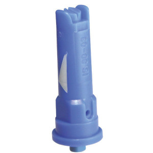 Lechler Venturi kantdop IS 80° blauw kunststof - IS8003POM | 3 8 bar | 10 mm | Kunststof | 80°