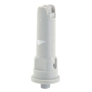 Lechler Venturi kantdop IS 80° grijs kunststof - IS8006POM | 3 8 bar | 10 mm | Kunststof | 80°