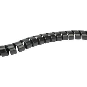 Safeplast Veer kunststof zwart 34-44 - KBV35Z | PE (polyetheen) zwart | 40 mm | 2,7 mm | 35,0 mm