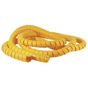 Safeplast Veer kunststof geel 55-67 - KBV55G | PE (polyetheen) geel | 63 mm | 3,7 mm | 55,0 mm