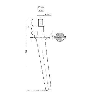 Rotoregtand Remac - KE1461 | 360 mm