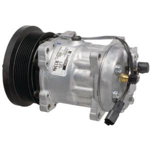 Sanden Compressor - KL000018 | Sanden 7H15 | 300 cc | 132 mm | Poly-V8