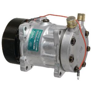 Sanden Compressor - KL000055 | Sanden 7H15 | 135 cc | 125 mm | Poly V 10