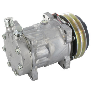 "Sanden Compressor - KL000062   7/8"" x 3/4""   Sanden 7H15   135 cc   132 mm"