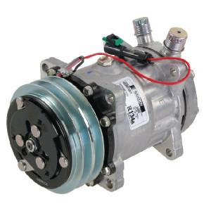 Sanden Compressor - KL000083 | Sanden 7H15 | 135 cc | 112 mm | Poly V 4