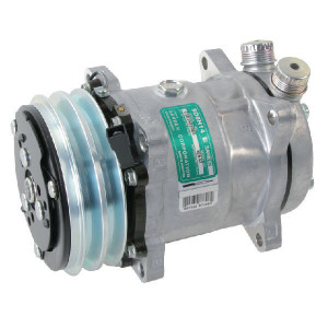 "Sanden Compressor - KL000092 | 001013184 | 1"" x 1"" | Sanden 5H14 | 175 cc | 132 mm"