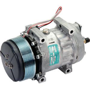 Sanden Compressor - KL000102 | Sanden SD7H15E | 119 mm | Poly V 8