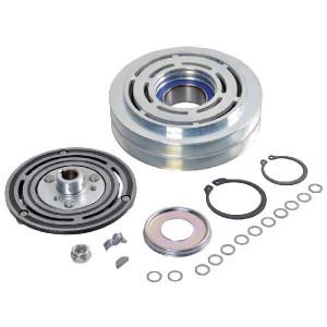 Koppeling.Sanden7H15, 2GA, 132 mm H - KL000810 | 132 mm | Sanden 7824 / 7825 / 7866