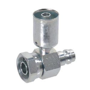 "Perskoppeling nr.8, - KL074790 | 1""-14 | 14,4 mm | ventiel R134 | 30 mm"