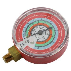 Manometer - hoog rood - KL090265