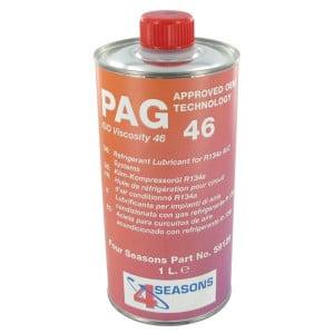 PAG olie 1l lage viscositeit - KL091001   Voor aircosystemen   1000 ml   1 l