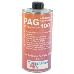 PAG olie 1 l hoge viscositeit - KL091003 | Voor aircosystemen | 1000 ml | 1 l | PAG100