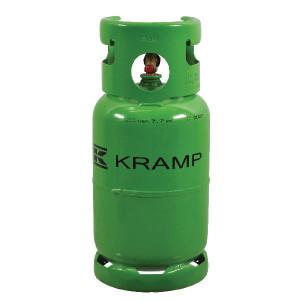Gasfles 12 kg R134a gevuld - KL091240FKR | Exclusief statiegeld