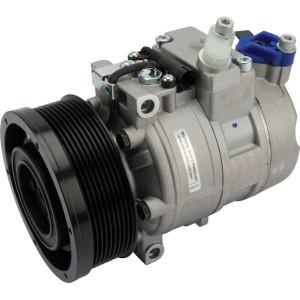 Sanden Compressor - KL100110 | 245CCM olie | 0000672872 | 134 mm | Poly V 9