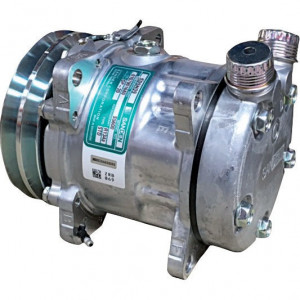 Compressor - KL100111 | 000762734 | Sanden SD5H09 | 125 mm | 2 G – A