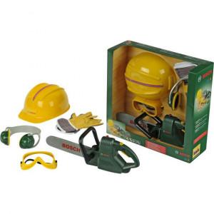 Klein Bosch kettingzaag+helm+handsch - KL8525 | 400x110x130 mm