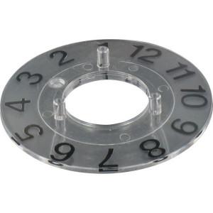 Schaalverdeling 1-12 Ø28mm - KNOP280D