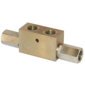"FluidPress Gest. terugslagklep 1/2 BSP - KOHU10001 | 174 mm | 17 mm | 1/2"" BSP | 45 l/min"