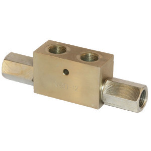 "FluidPress Gest. terugslagklep 3/4 BSP - KOHU20001 | 212 mm | 120 mm | 16 mm | 3/4"" BSP | 85 l/min"