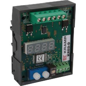 PWM versterker duo DIN. 9-36V - KREDD | Kleine inbouwruimte | 9 36 VDC