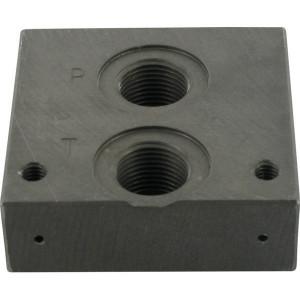 Invoerplaat voor KREV-02S P+T - KREV02SF8S