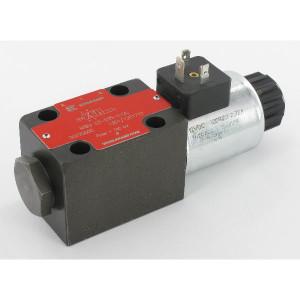 Stuurventiel elektrisch NG6 - KREV03B3S012C | Elektromagnetisch bediend | Max. 80 l/min | 40,5 mm | 32,5 mm | 12V DC V