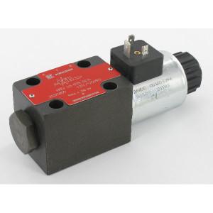 Stuurventiel elektrisch NG6 - KREV03B3S024C | Elektromagnetisch bediend | Max. 80 l/min | 40,5 mm | 32,5 mm | 24V DC V