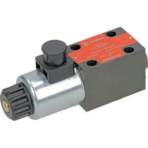 Stuurventiel elektrisch NG6 - KREV03C4B024C | Elektromagnetisch bediend | Max. 80 l/min | 40,5 mm | 32,5 mm | 24V DC V