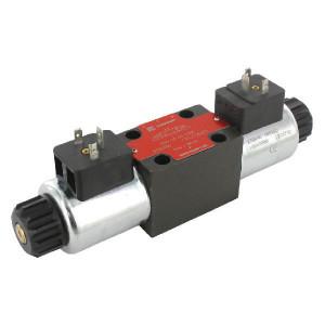 Stuurventiel elektrisch NG6 - KREV03C6230A | Elektromagnetisch bediend | Max. 80 l/min | 40,5 mm | 32,5 mm | 230V AC V
