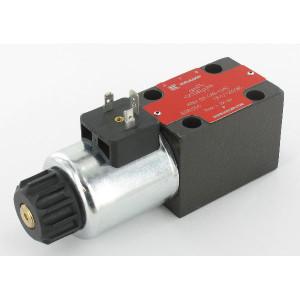 Stuurventiel elektrisch NG6 - KREV03C6B024C | Elektromagnetisch bediend | Max. 80 l/min | 40,5 mm | 32,5 mm | 24V DC V
