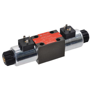 Stuurventiel elektrisch NG6 - KREV03D2024C | Elektromagnetisch bediend | 350 bar | 40,5 mm | 32,5 mm | 24V DC V | 80 l/min | 210 bar | 350 bar max | 65 IP | 100 %